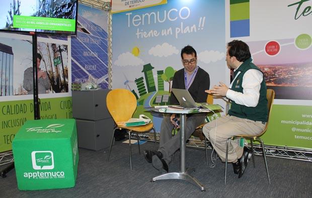 La ciudad de Temuco participó en evento sobre ciudades inteligentes