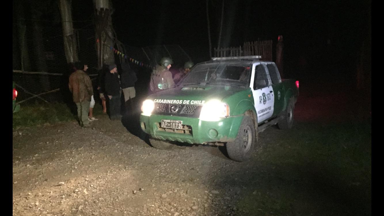 Ataque a restaurant deja dos personas fallecidas ruta Cajón Vilcún