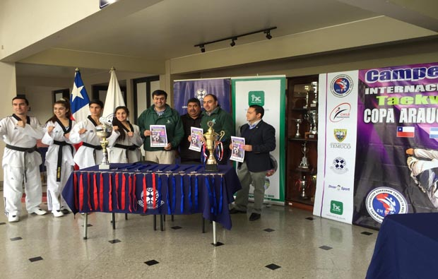 Se realizó lanzamiento oficial campeonato internacional de Taekwondo Copa Araucanía