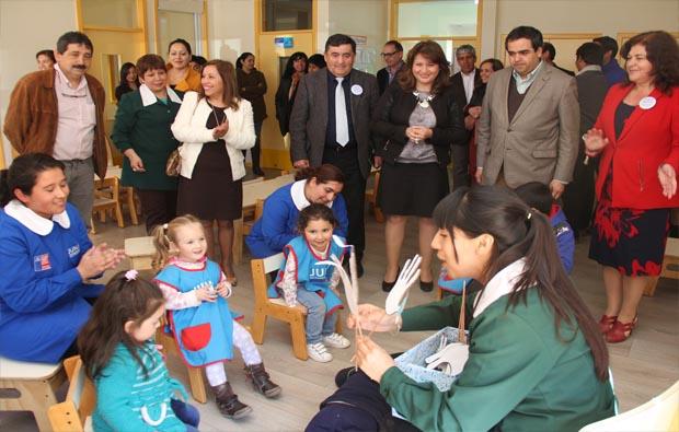 Dos nuevos jardines infantiles junji se inauguran en for Postulacion jardin junji 2016