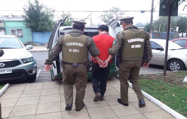 Carabineros de Padre Las Casas detuvo a obrero por violación a una menor de 9 años