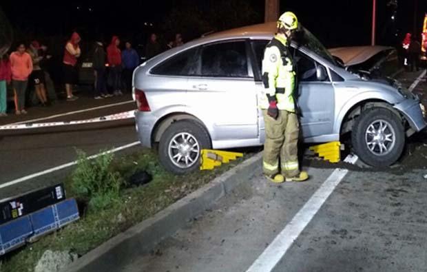 Una persona fallecida en fatal accidente en Av. Los Poetas de Temuco