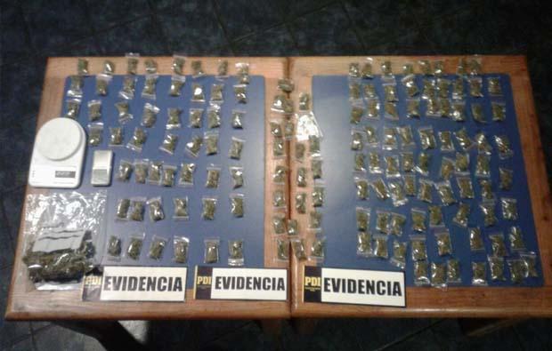 Reconocido Dj fue detenido por la PDI por tráfico de drogas en locales nocturnos en la Zona Lacustre