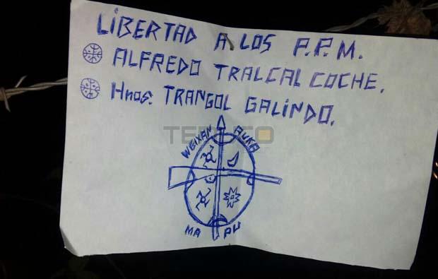 Incendian iglesia Evangélica sector El Natre en Vilcún