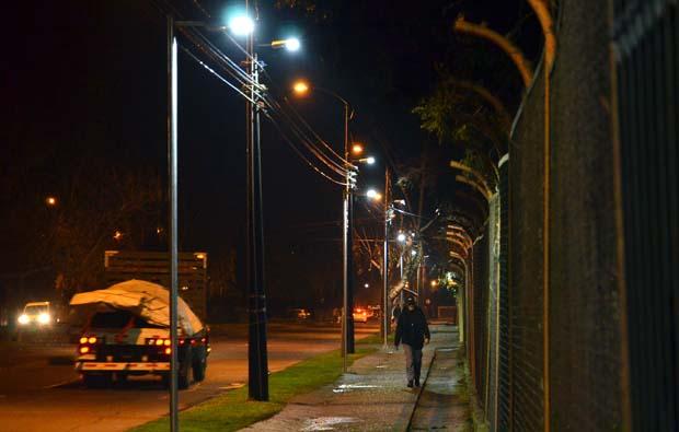 740 nuevas luminarias serán instaladas en Temuco