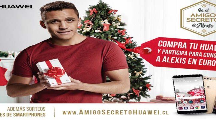 """En esta Navidad Huawei te invita a ser el """"amigo secreto"""" de Alexis Sánchez"""