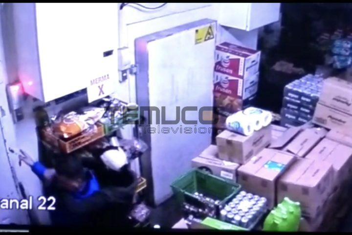 [Video] Delincuentes huyen con $10 millones y dejan maniatados a trabajadores en Supermercado El Trebol