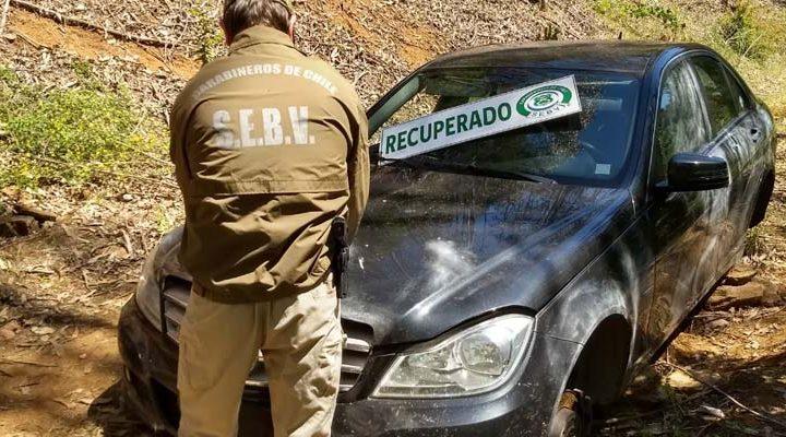 Carabineros recuperó $30 millones en vehículos sustraídos desde una automotora en Temuco