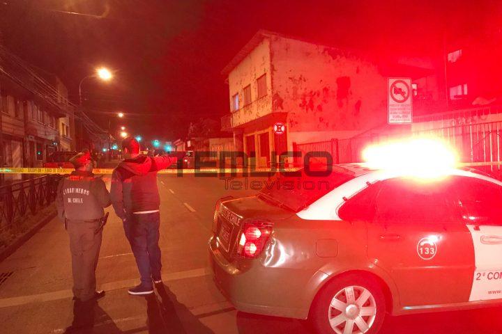 [Video] Artefacto explosa en el partido del PS en Temuco