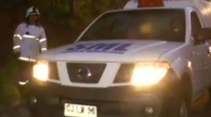 Policial: Tres personas fallecieron, uno baleado y dos en un atropello en La Araucanía
