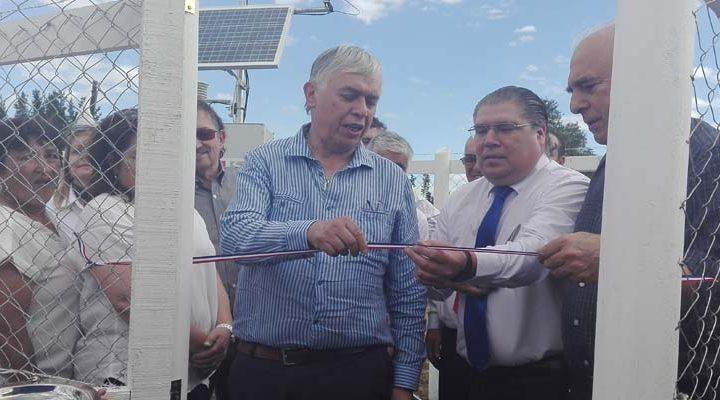 Instalan última estación meteorológica regional en Freire