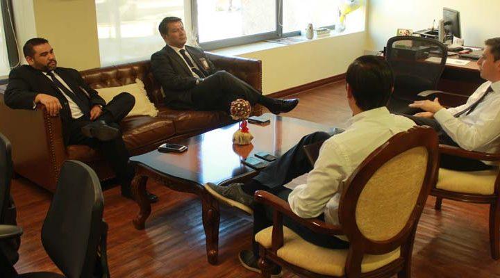 Jefe de Extranjería de la PDI y gobernador de Cautin coordinan trabajo por aumento de inmigrantes
