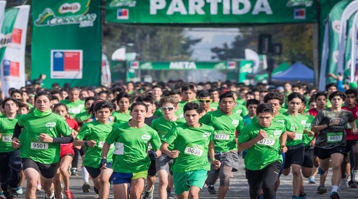 Más de 4 mil escolares dieron inicio a la décima temporada de las Corridas MILO en Temuco