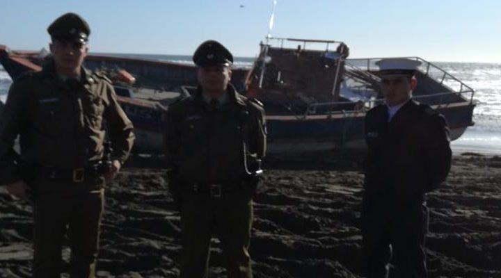 Roban embarcación en Queule, jóvenes estaban ebrios y con hipotermia cuando fueron detenidos