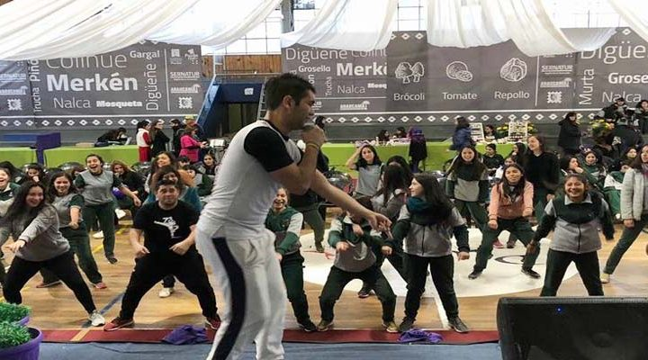 Más de 500 puconinas disfrutaron de la primera Feria de la Mujer