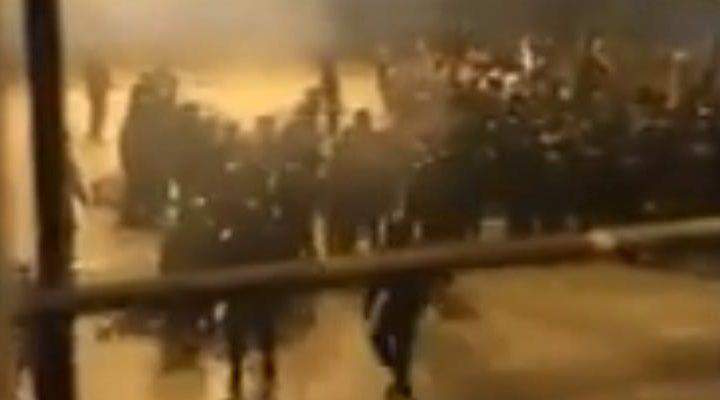 Difunden video cuando desalojan a comuneros desde la cárcel de Temuco