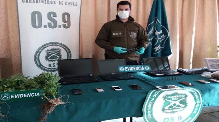 Logran capturar a peligrosa banda que maniató a una pareja al interior de un departamento en Temuco