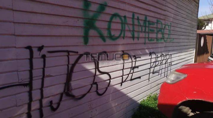 Con rayados en contra de la Conmebol y San Lorenzo amanecieron muros en lugar entrenamiento del equipo