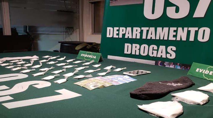 Fiestas Patrias: OS-7 frena el ingreso de 1.500 dosis de cocaína a La Araucanía