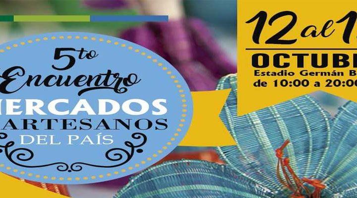"""Último día del """"Encuentro de mercados y artesanos"""" con exponentes desde Iquique hasta Chiloé"""