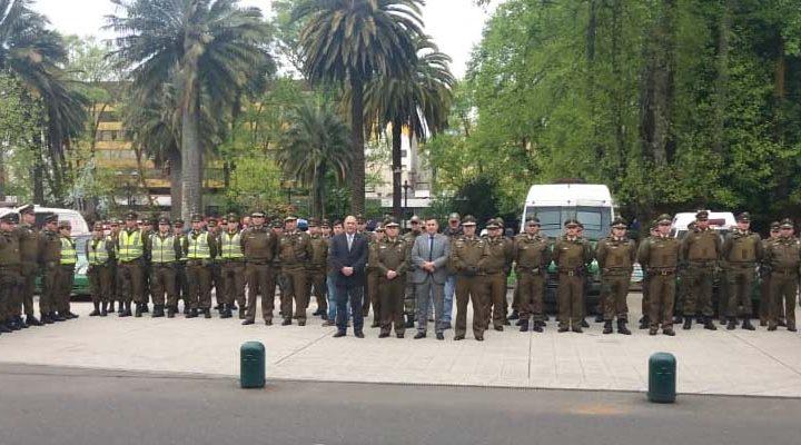 Ronda masiva e intersectorial dejó 319 detenidos en La Araucanía