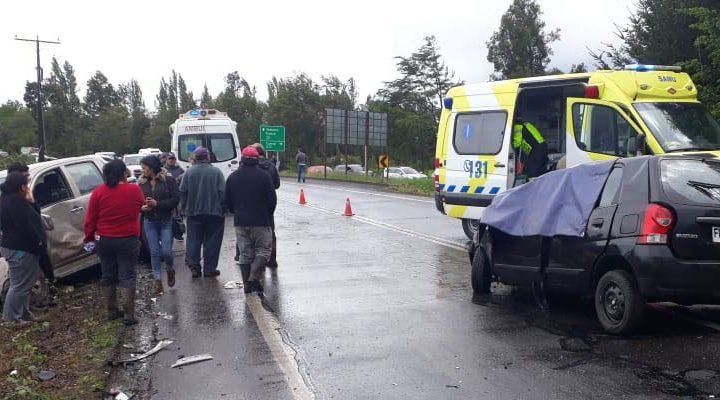 Violento choque deja dos fallecidos en la ruta Freire-Villarrica