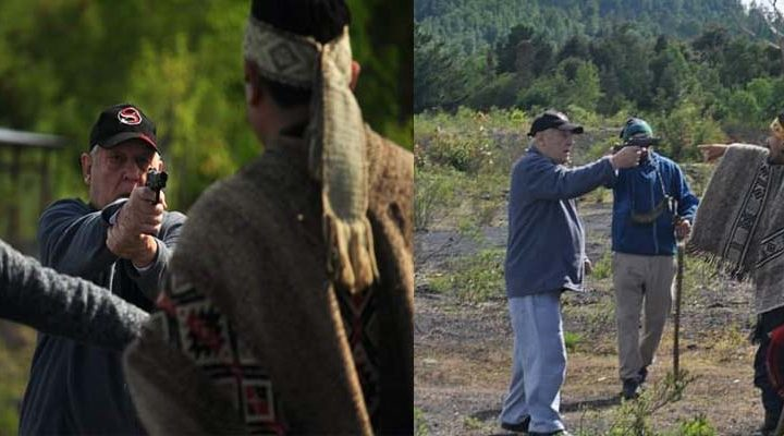 [Video] Lican Ray: Un agricultor amenaza con arma de fuego a integrantes de comunidad mapuche