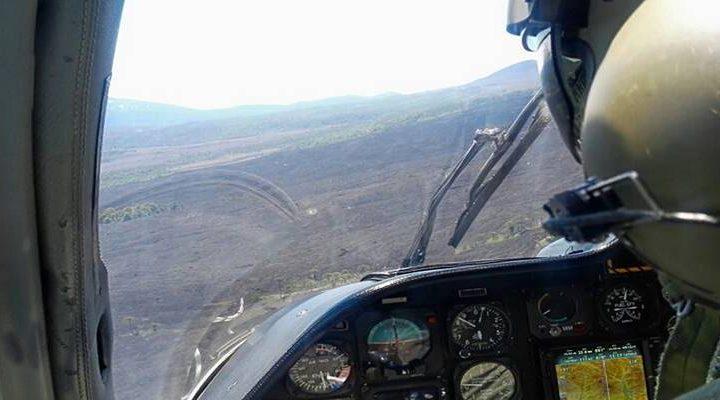 Piloto de helicóptero de Carabineros vinculó a Catrillanca con el robo de autos