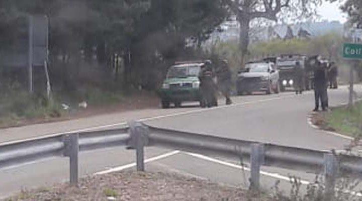 Asaltan equipo de TVN en zona roja del conflicto mapuche, sujetos roban vehículo y equipos de transmisión