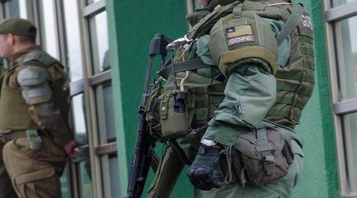 Capitán de Carabineros es  herido por perdigones durante operativo en Lautaro
