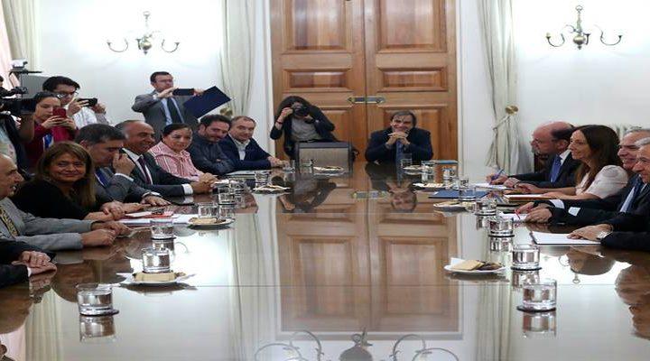 Piñera se reúne con comité político y parlamentarios de La Araucanía