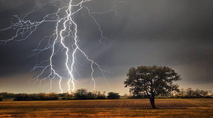 Declaran Alerta Temprana Preventiva por tormentas eléctricas para la Región de La Araucanía