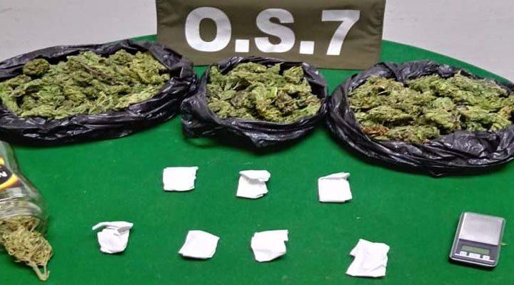 OS7 logra decomisar más de mil dosis de marihuana elaborada en Pucón