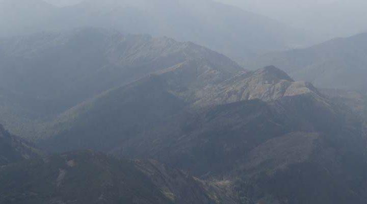 Tres focos de incendios forestales registra CONAF en sector cordillerano de Lonquimay