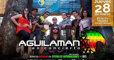 Mister Aguila se reinventa transformándose en Aguilaman la banda e invita a concierto en vivo