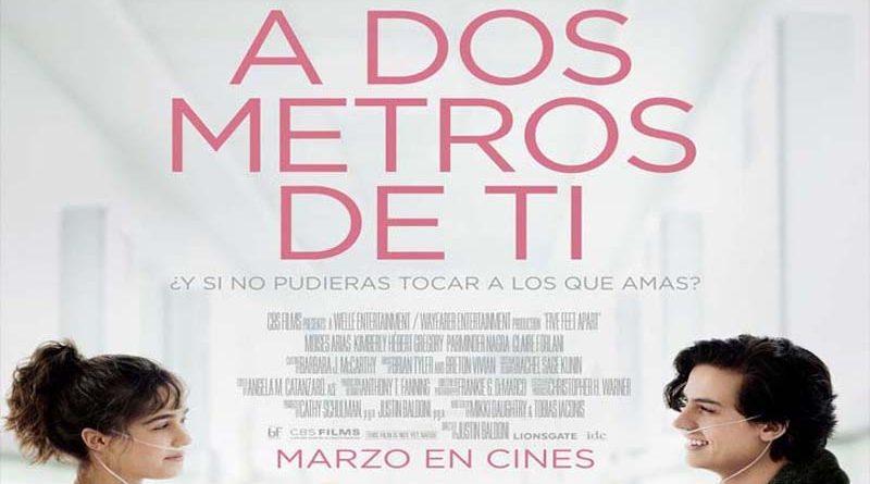 "Panorama: Destacamos para esta semana el estreno de Cine Hoyts ""A dos metros de Ti"""