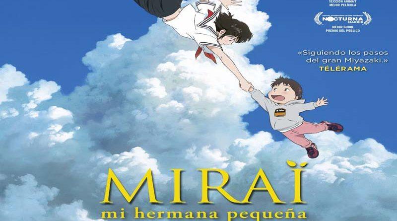 """Cine Hoyts estrena para esta semana la película """"Mirai"""""""