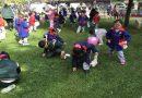 Temuco: Cientos de niños recolectaron los tradicionales huevitos de pascua