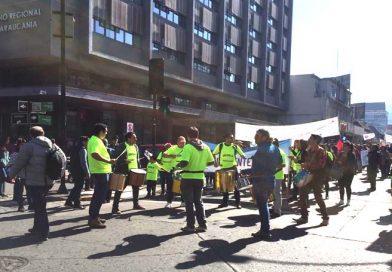 Profesores se preparan para una nueva marcha en Temuco