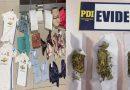 PDI recupera especies sustraídas en Mall Vivo y saca de circulación 1.500 dosis de marihuana