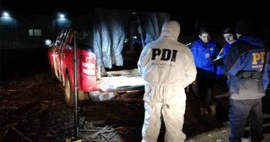 Collipulli: PDI investiga una camioneta que podría estar vinculada a ataque de Retén