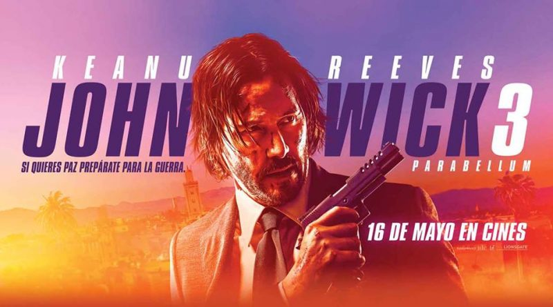 Cine Hoyts Temuco estrena para esta semana la película John Wick 3: Parabellum