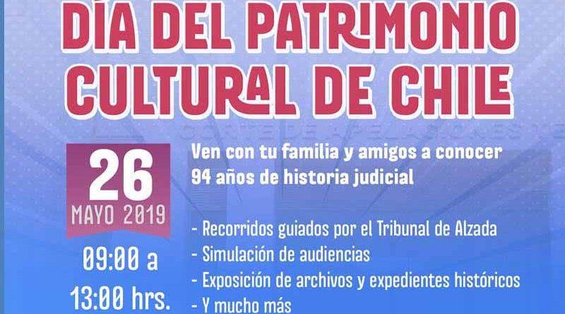 Día del Patrimonio: Corte de Apelaciones te invita a conocer los 94 años de historia