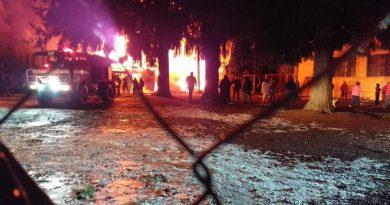 Incendio afecta a una escuela en Pailahueque