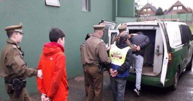 10 personas detenidas deja servicio focalizado de Carabineros en Labranza y Temuco