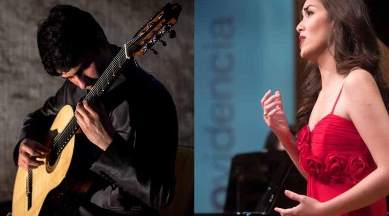 Panorama: Soprano y Guitarrista clásico se presentan en el Centro Cultural de PLC