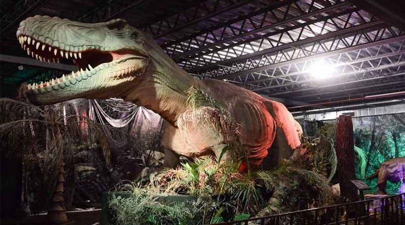 Panorama: ¡A pedido del público! regresa Expo Dinosaurios 2019 en Easton Outlet Mall Temuco