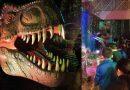 [Video] 100 niños de escuelas municipales participaron de inauguración oficial de La Expo Dinosaurios