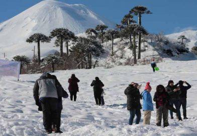 """En el Centro """"Nevado de Vilcún"""" dieron el vamos a la Temporada de Invierno 2019"""