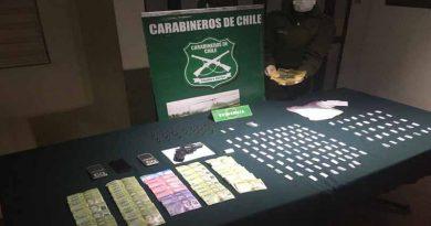 Carabineros del OS-7 erradica foco de venta de pasta base y cocaína en Nueva Imperial